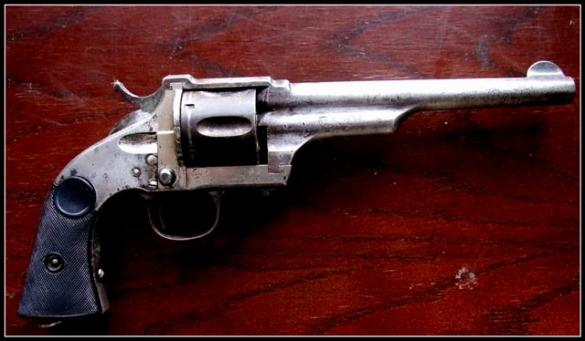 Merwin and Hulbert Late Model Solid Frame Revolver