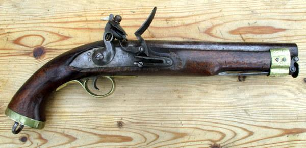EAST INDIA COMPANY SHORT CAVALRY FLINTLOCK PISTOL